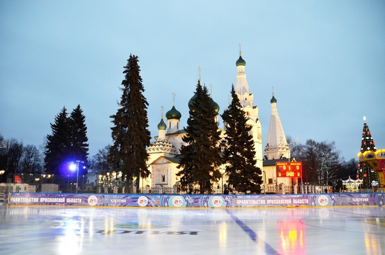 В Ярославле из-за коронавируса решили отказаться от главного городского катка