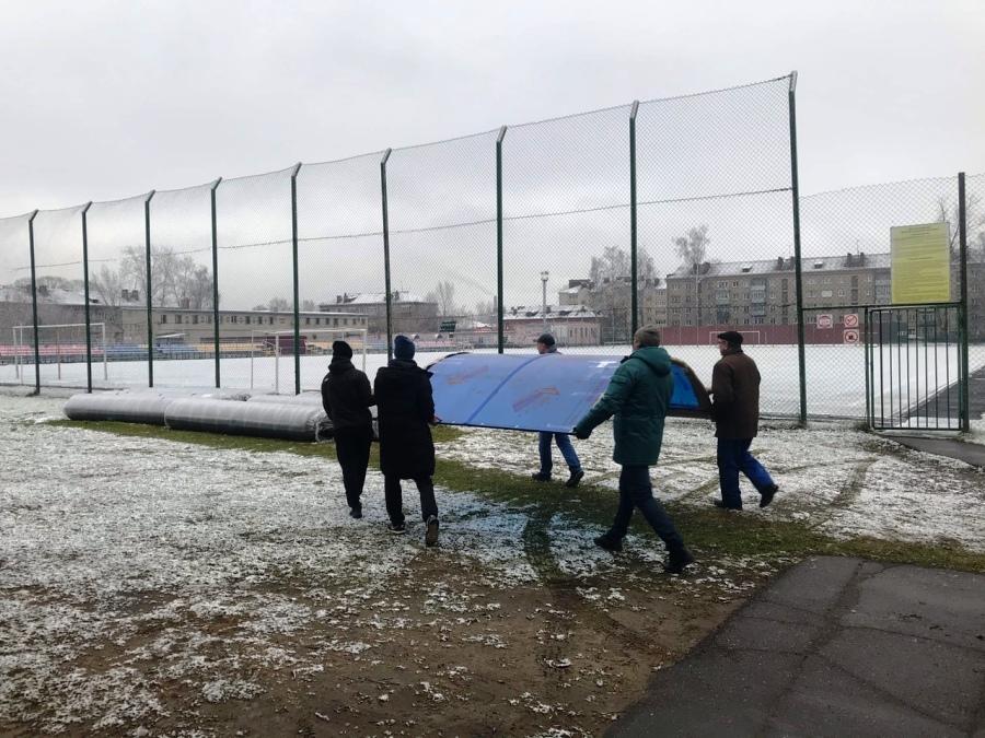 В Рыбинске появится профессиональное футбольное поле