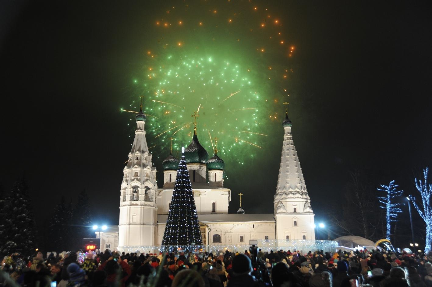 В Ярославле отменили новогодние мероприятия в центре города и детские хороводы вокруг елок