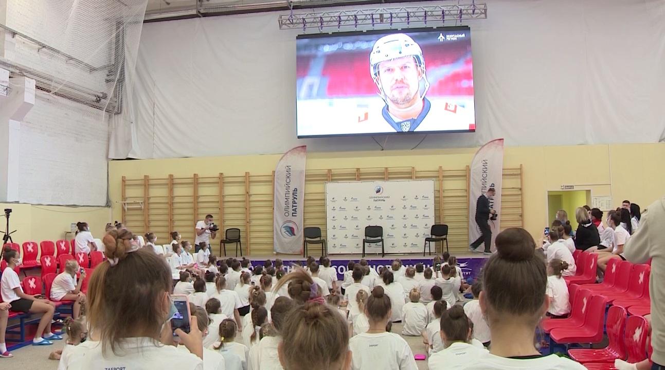 Ярославль посетил «Олимпийский патруль»