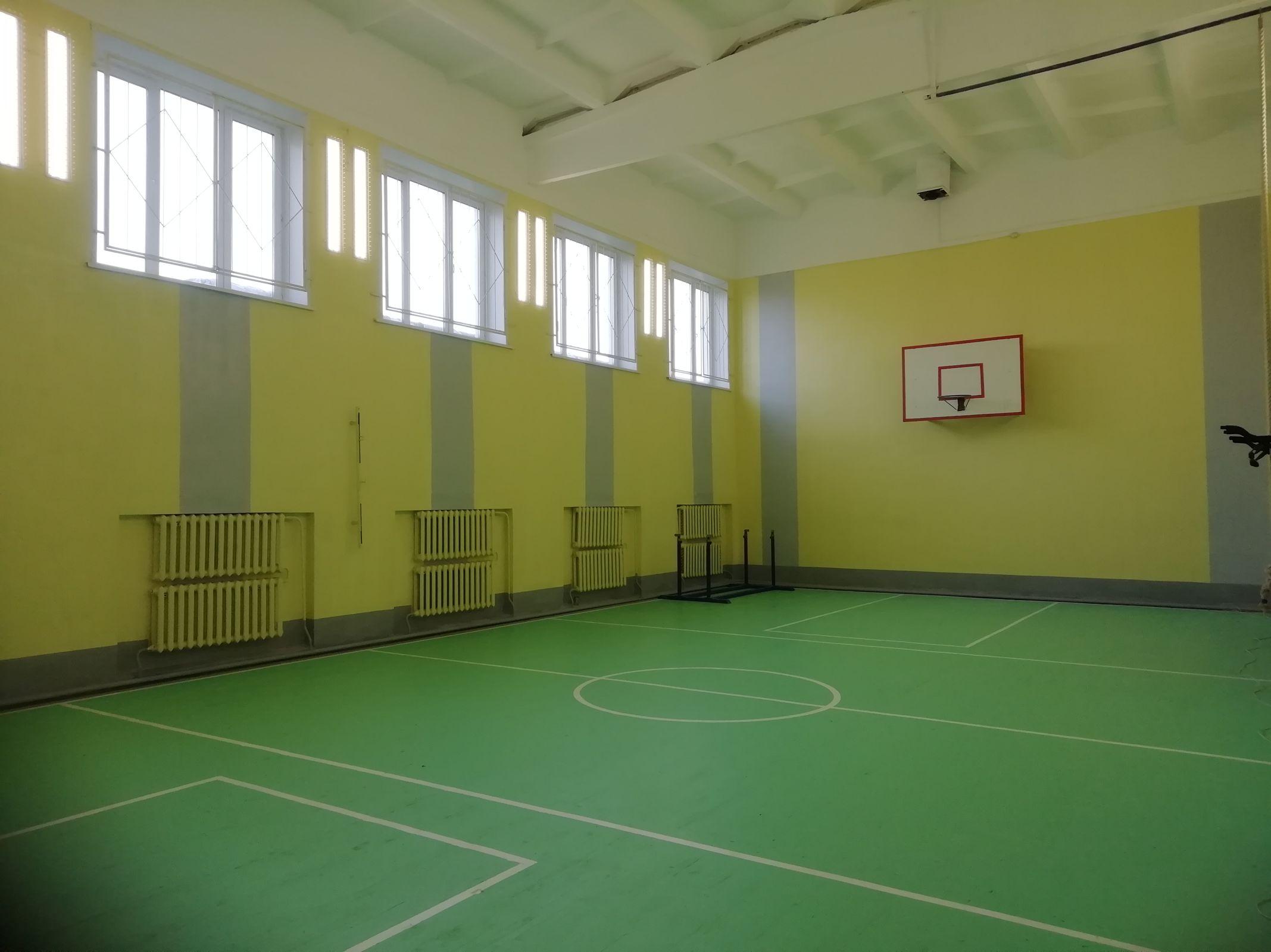 В сельских школах Ярославской области обновили спортзалы