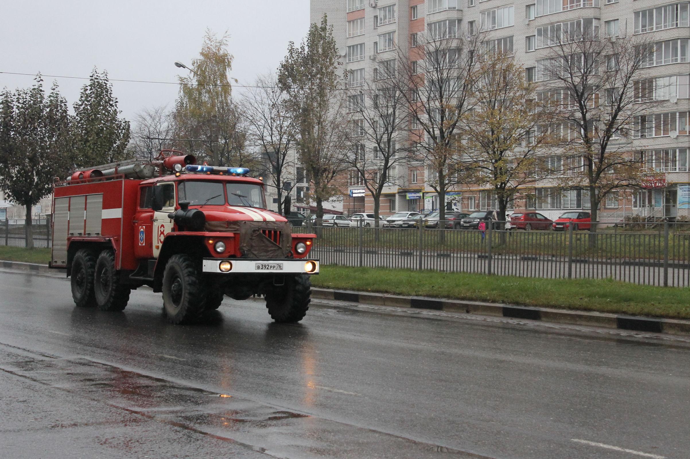 В Ярославской области при пожаре погиб пенсионер