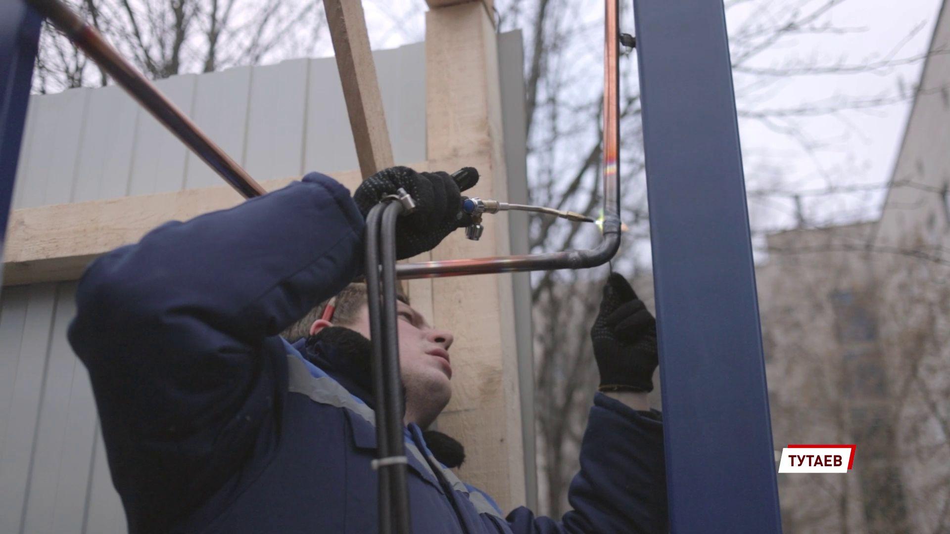 В Тутаевской ЦРБ закончился первый этап монтажа кислородно-газификационной станции