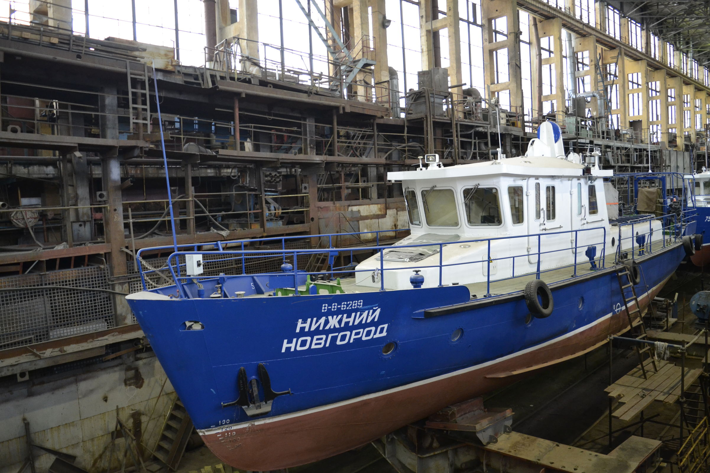 Дмитрий Миронов поздравил судостроительный завод с вековым юбилеем