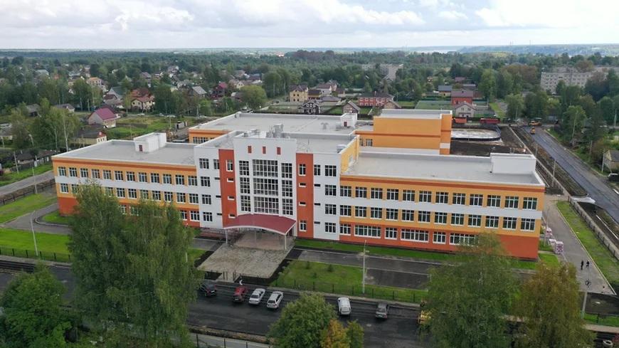 Это нормальный процесс: специалисты обследовали здание школы на улице Тракторной в Рыбинске