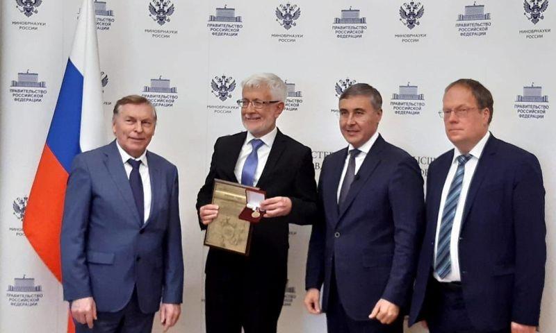 Ректор ЯГПУ имени Ушинского стал лауреатом премии «Ректор года»