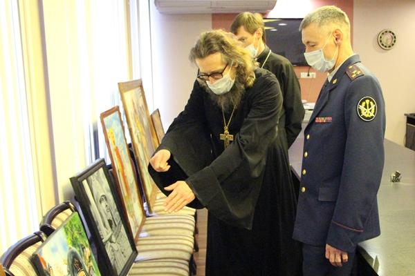 В ярославском УФСИН подвели итоги конкурса православной живописи осужденных