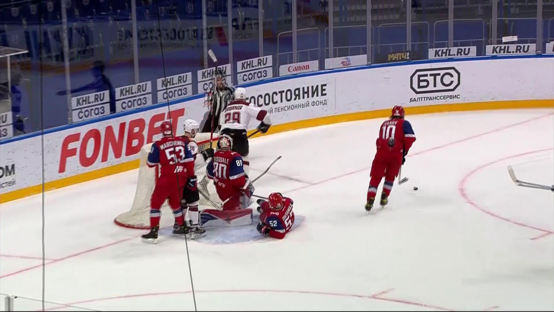 Ярославский «Локомотив» дома обыграл рижское «Динамо»