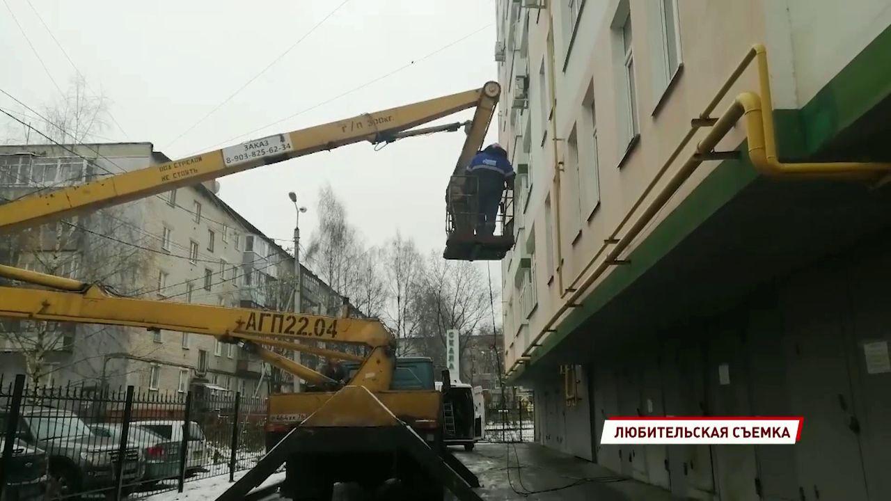 Приставы перекрыли ярославскому должнику газовую магистраль в квартиру