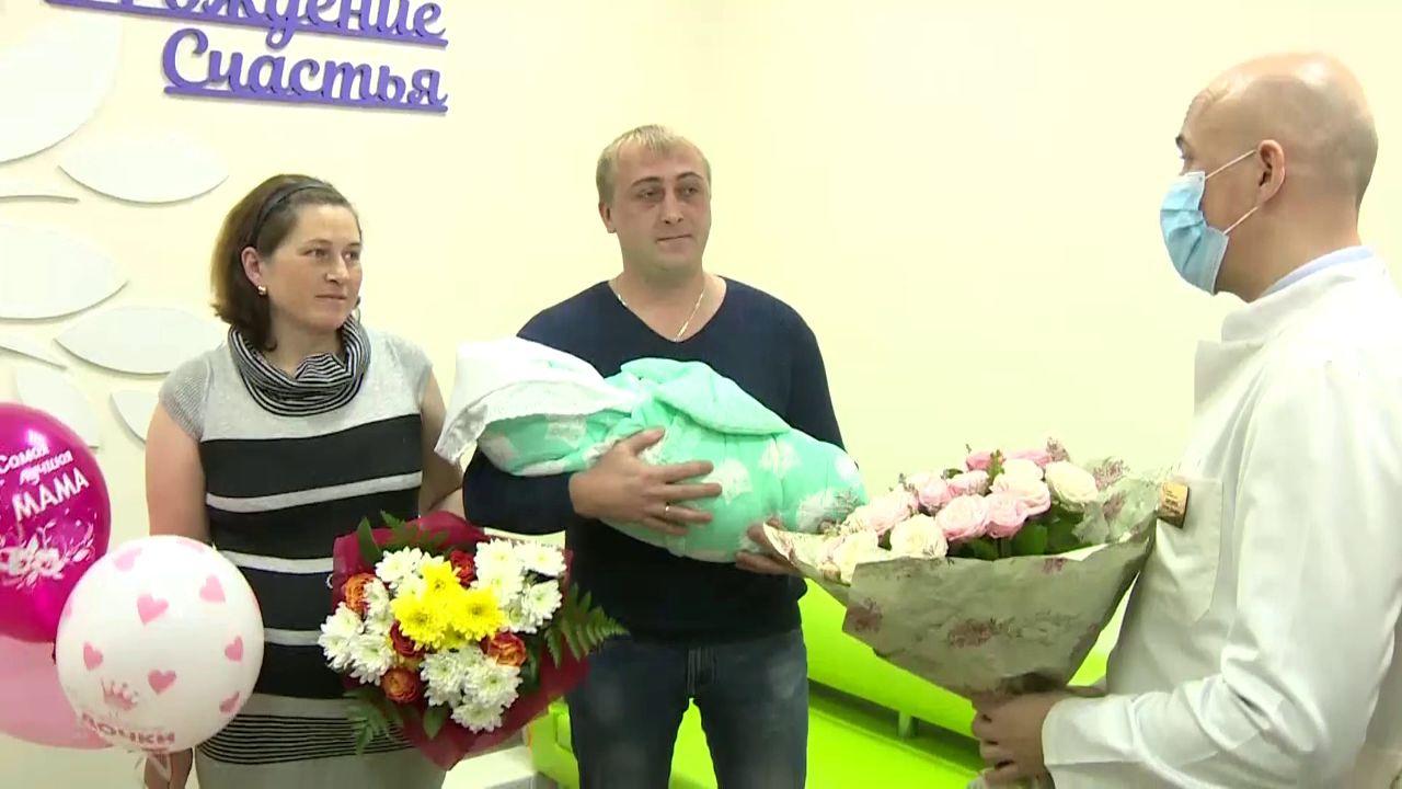 В Ярославском перинатальном центре родился 40-тысячный ребенок