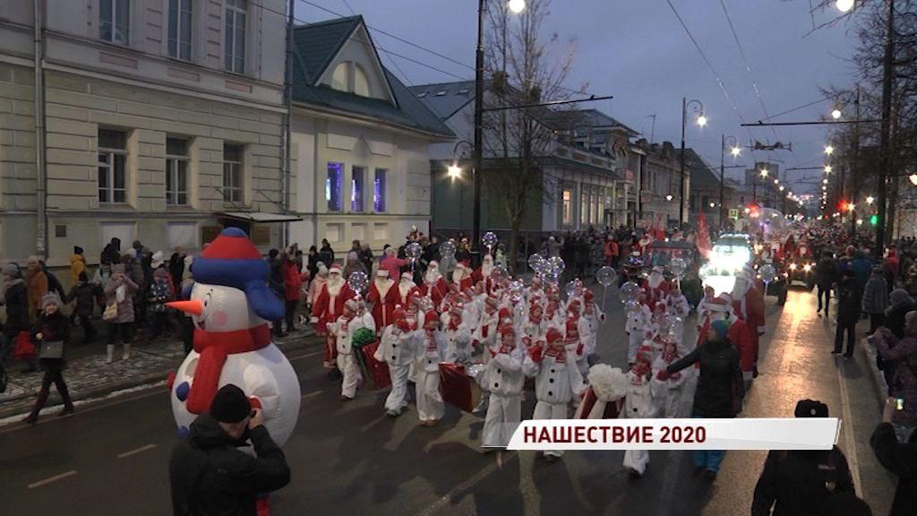 Снежинка из автомобилей и особенное меню: в Рыбинске состоится «НаШествие Дедов Морозов»