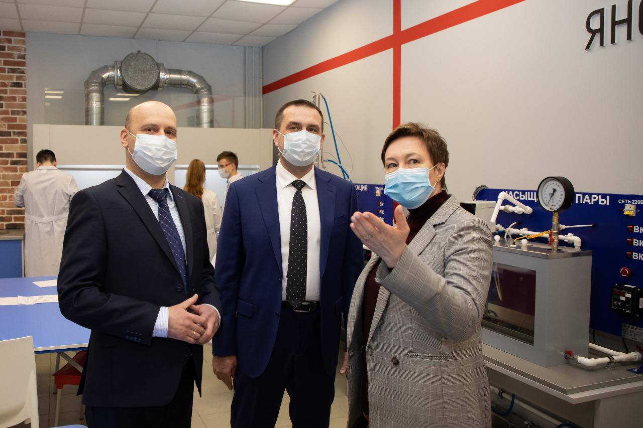 В Ярославле начал работу Центр профессиональных квалификаций в сфере химической и нефтехимической промышленности
