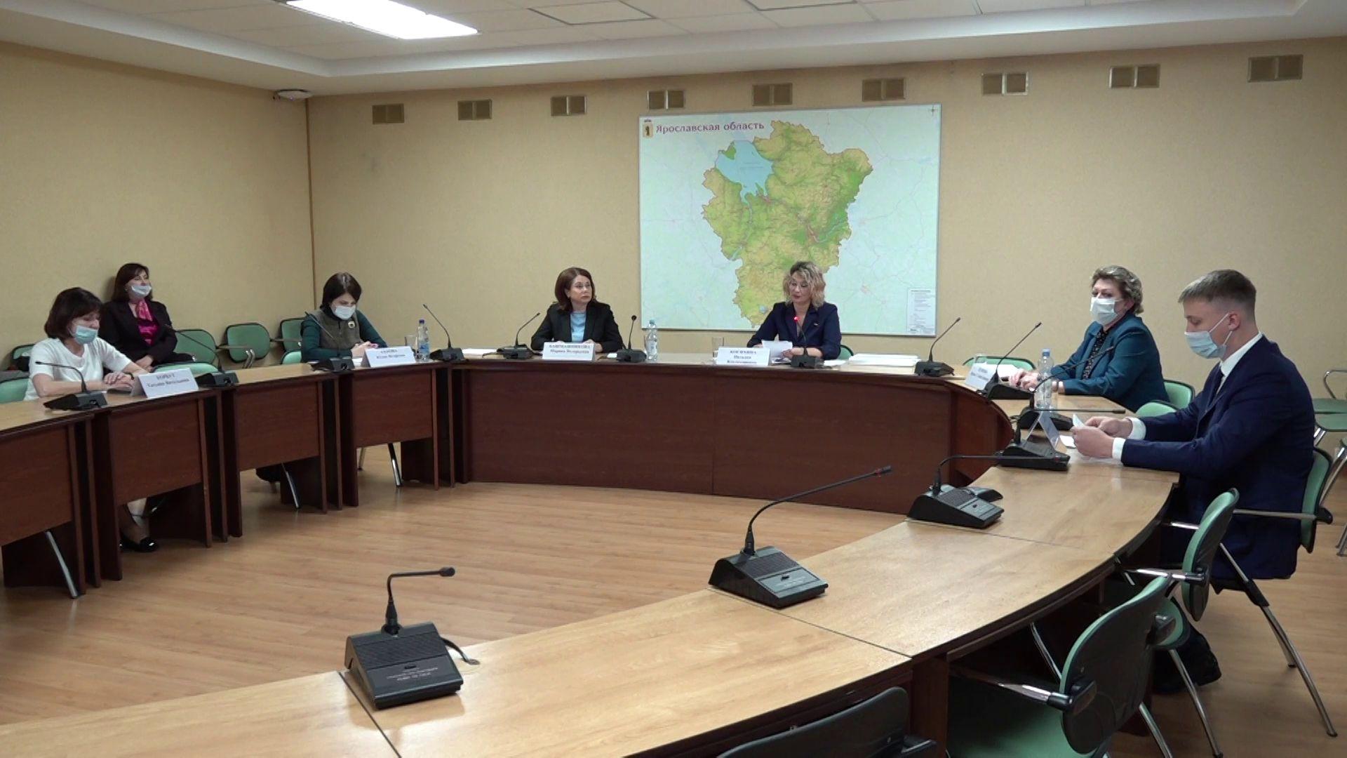 Правительство области обсудило поддержку одаренных детей