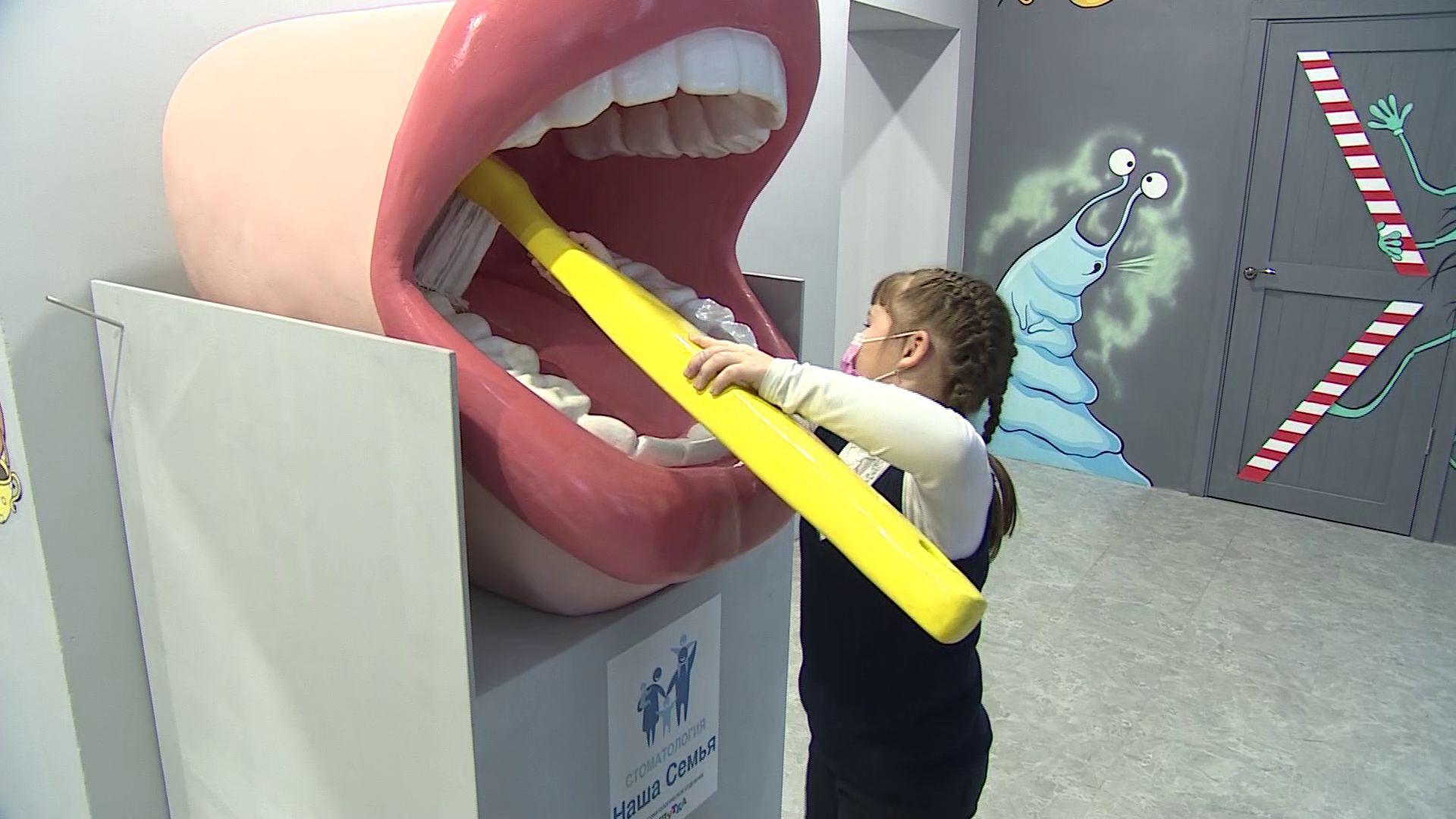 «Маленькие мамы» вместе с детьми посетили новый интерактивный Музей Здоровья