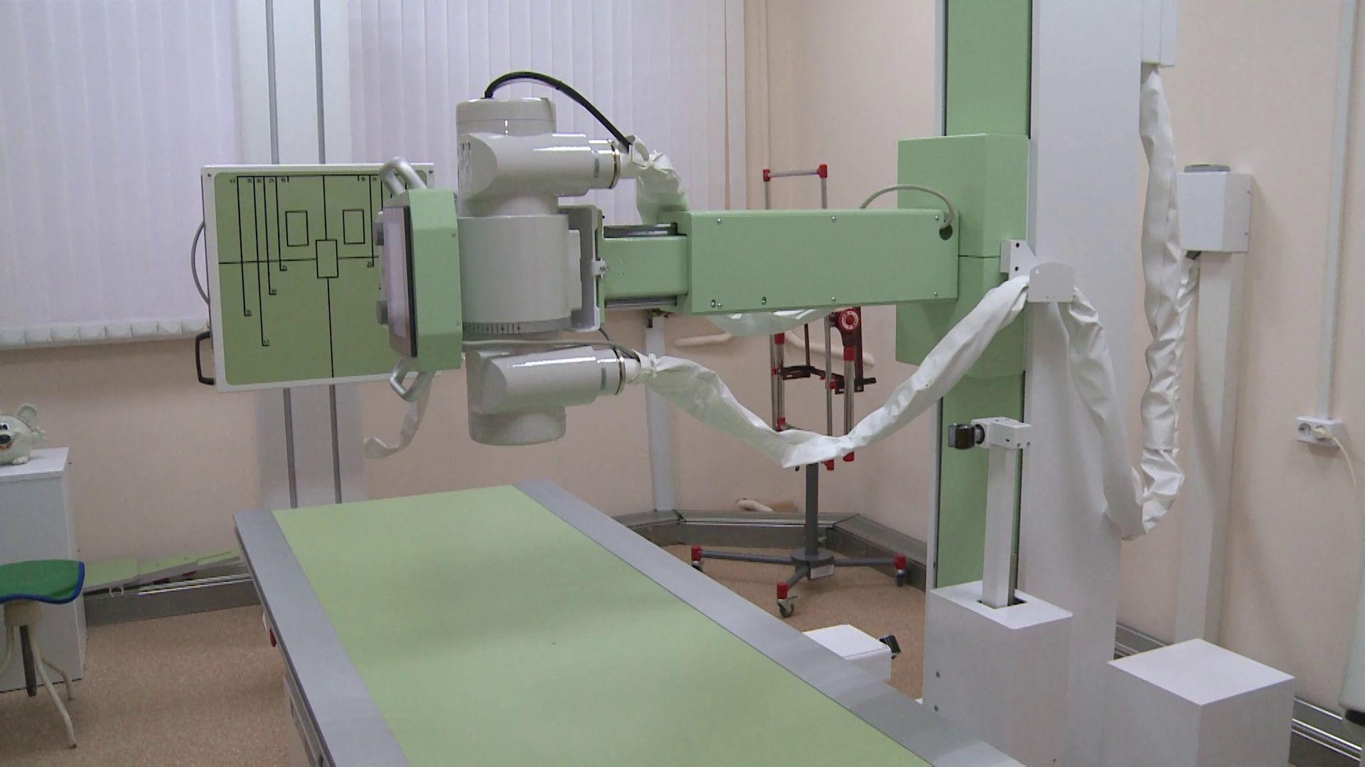 В детской поликлинике Центральной городской больницы Ярославля появился высокоточный рентгеновский комплекс