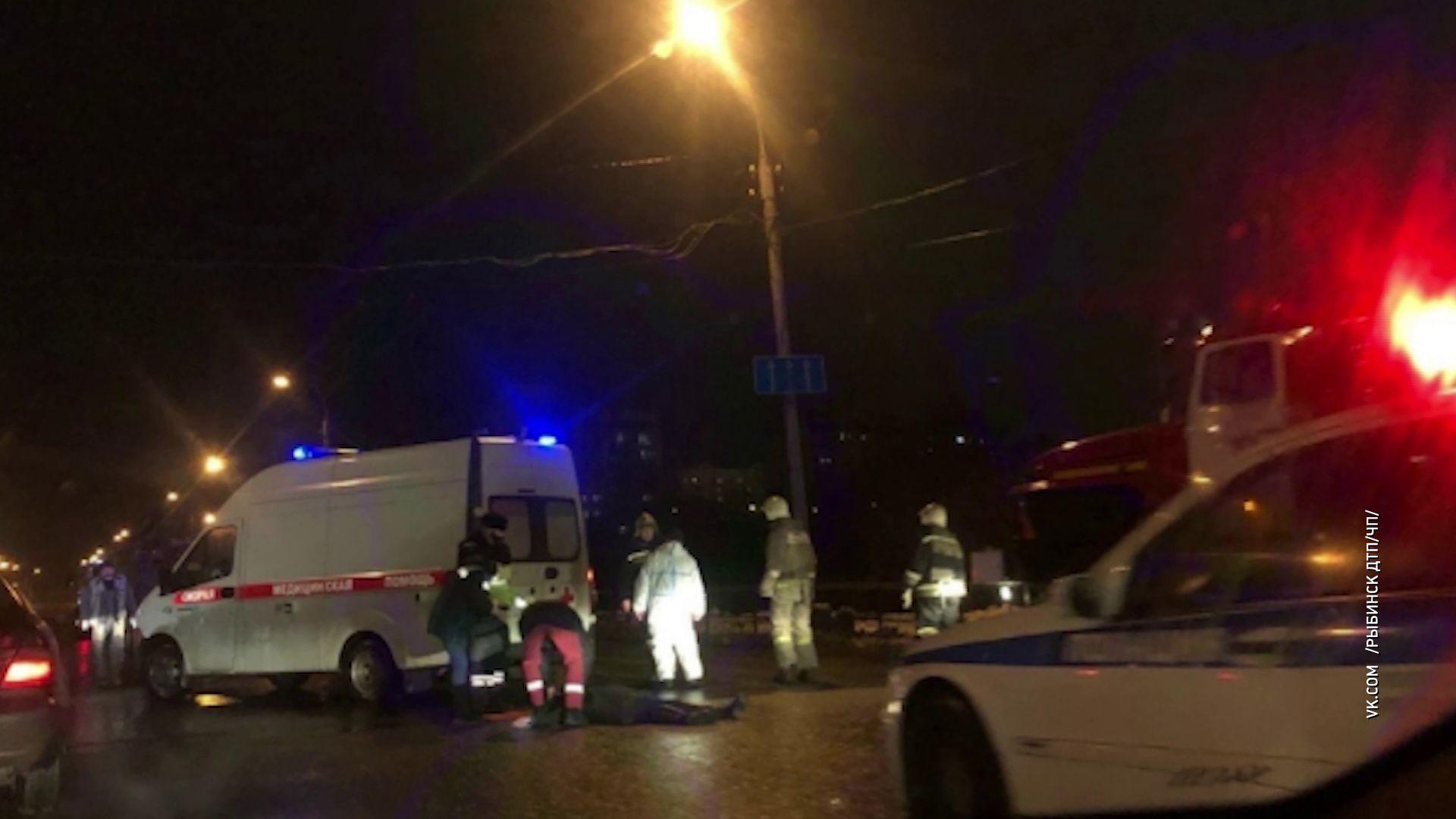 В Рыбинске грузовик задавил двух женщин