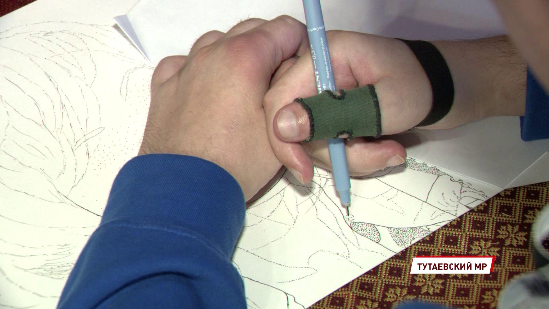 Ярославец с работами в монохромном пуантилизме стал одним из победителей конкурса «Преодоление»
