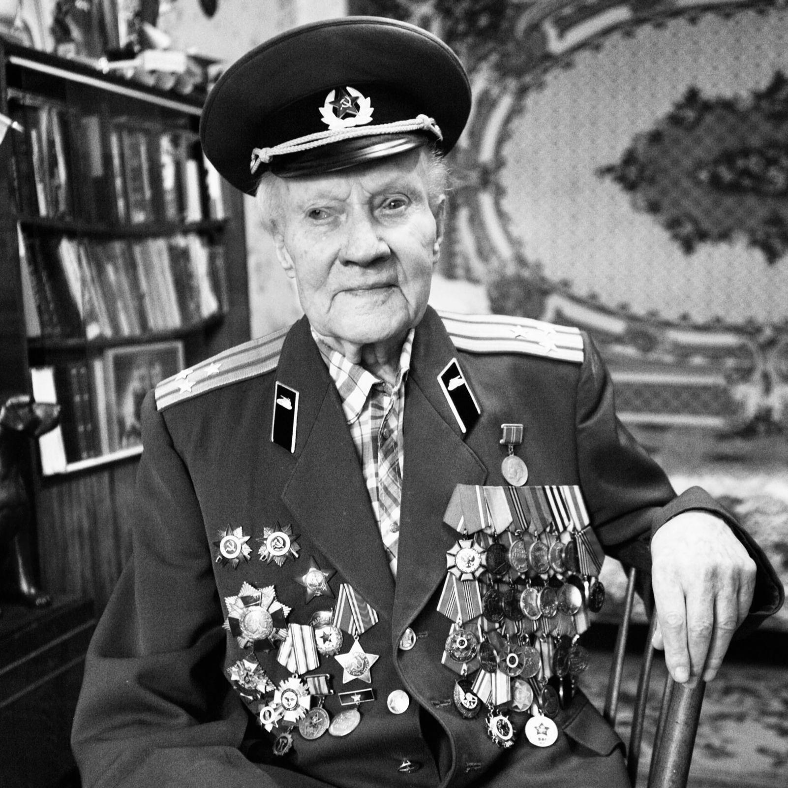 В Ярославле скончался участник Великой Отечественной войны Сергей Рогожников