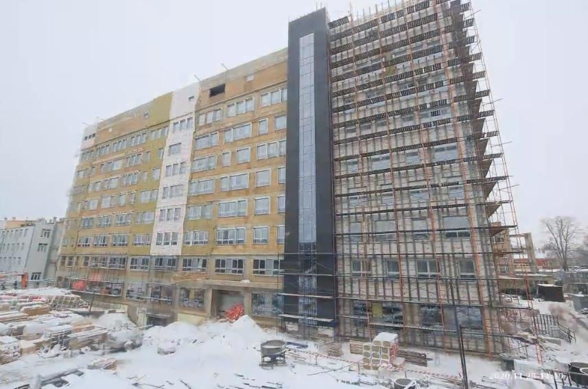 Дмитрий Миронов о строительстве хирургического корпуса областной онкологической больницы: «Серьезно усилим региональное здравоохранение»