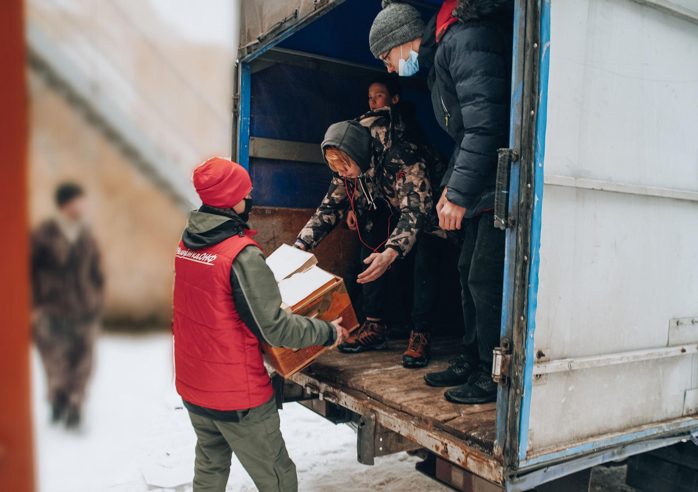Воспитанники Рыбинского детского дома собрали для сдачи более тонны макулатуры