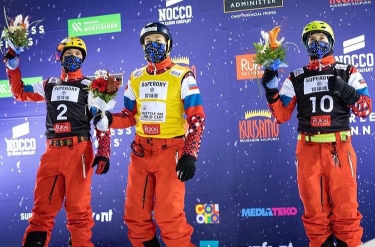 Ярославцы заняли весь пьедестал на соревнованиях по фристайлу в Финляндии