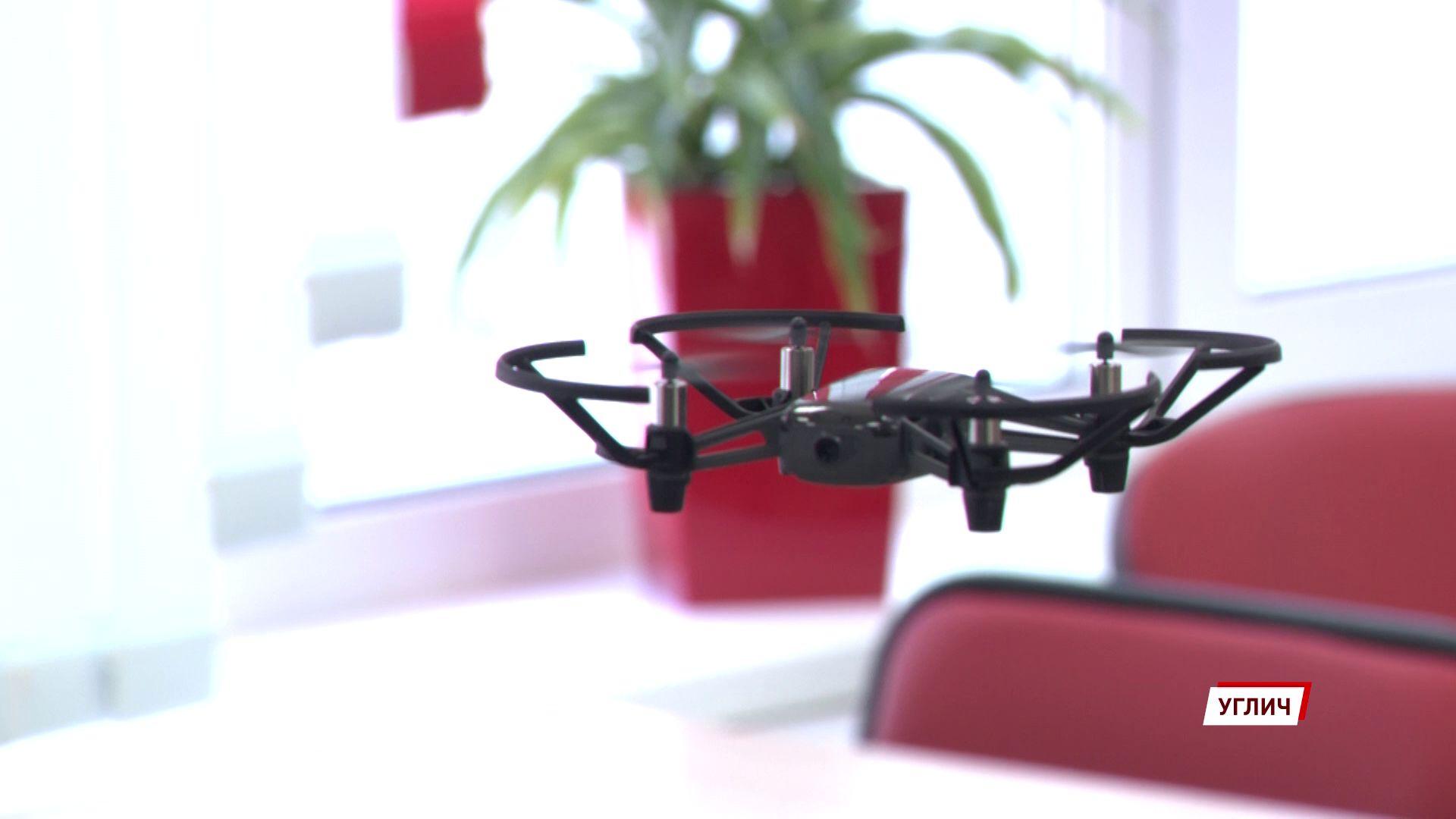 Компьютеры, дроны, VR-очки: угличская школа №8 получила современное оборудование