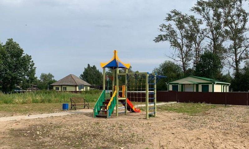 Еще восемь детских и спортивных площадок обустроят в регионе благодаря дополнительному финансированию