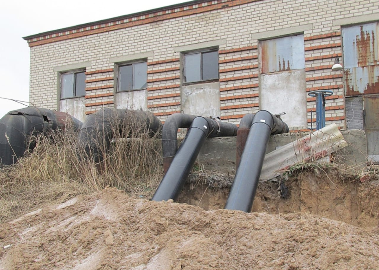 В селе Золоторучье реконструкция очистных будет завершена в 2022 году