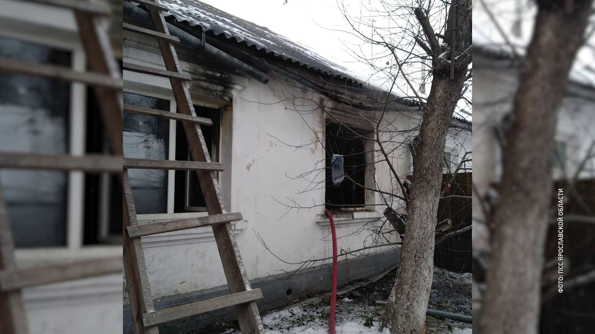 В Ярославле сгорел дом священника