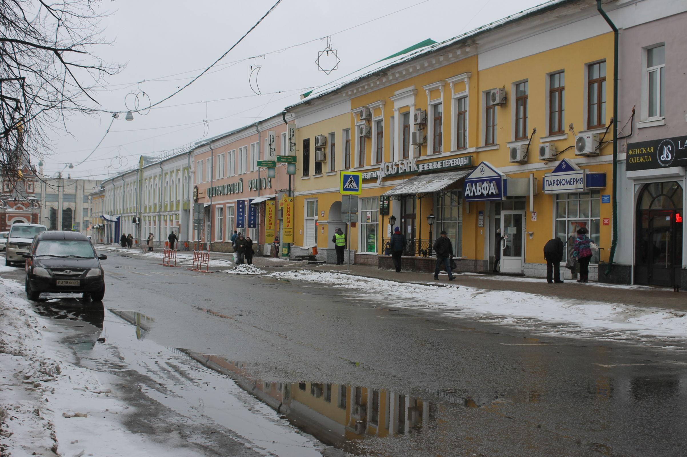 «Ледниковый период» в Ярославской области сменится теплом и слякотью