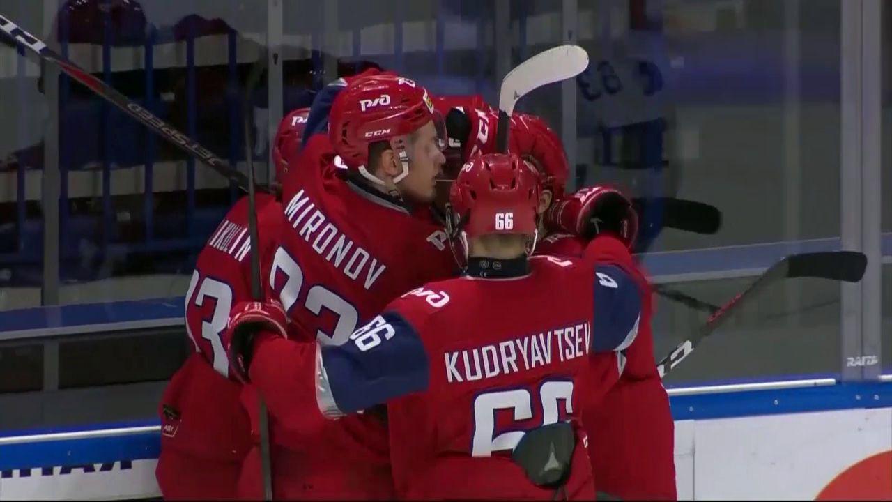 МХК «Локо» всухую переиграл МХК «Динамо» из Санкт–Петербурга