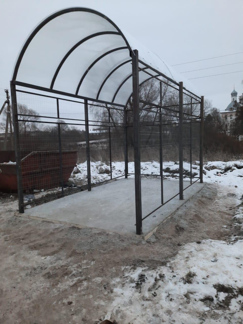 Почти 140 новых контейнерных площадок обустроили в этом году в Переславле-Залесском