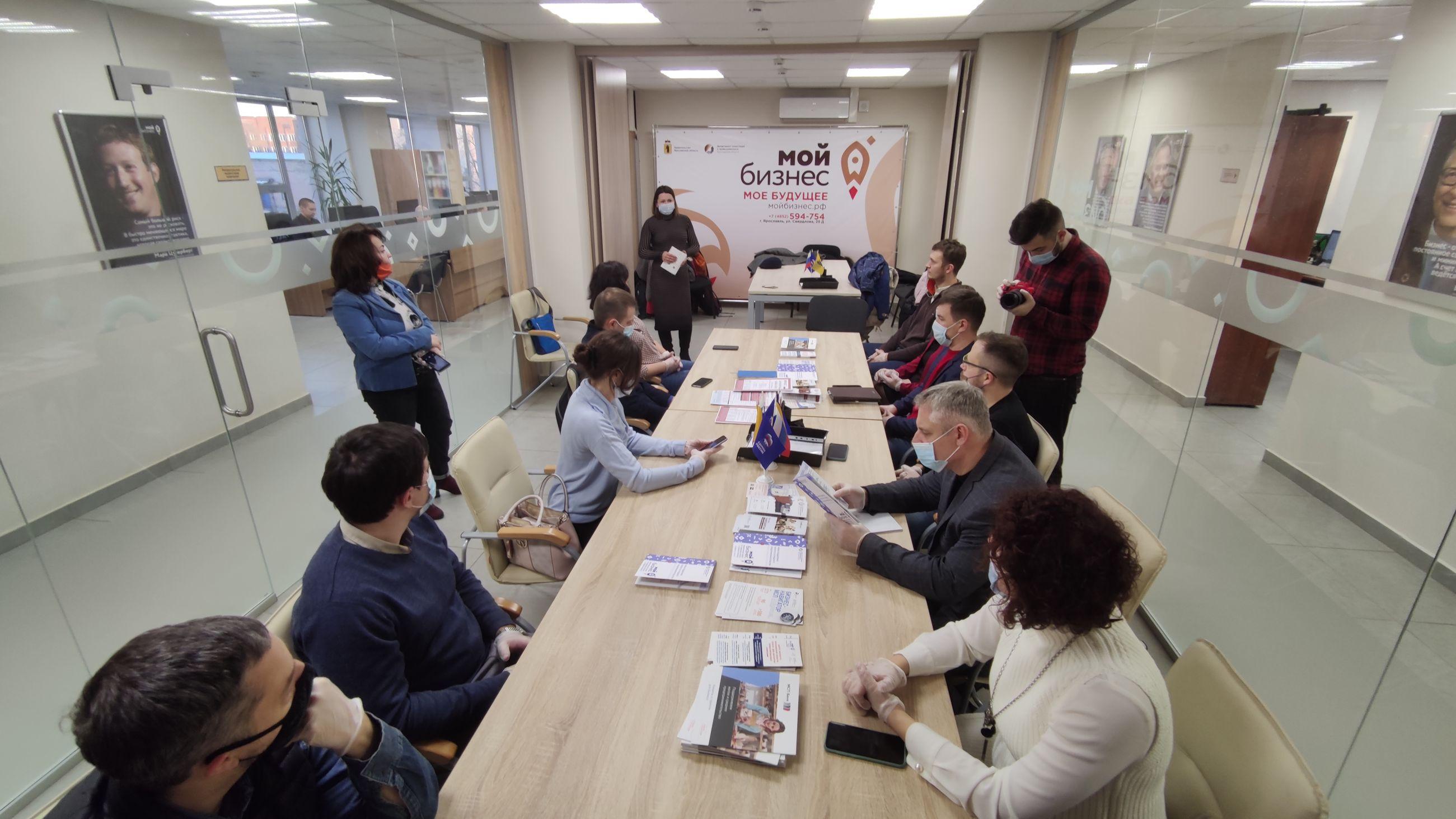 В рамках бизнес-шоу «Наставничество» прошла экскурсия в Центр поддержки предпринимательства