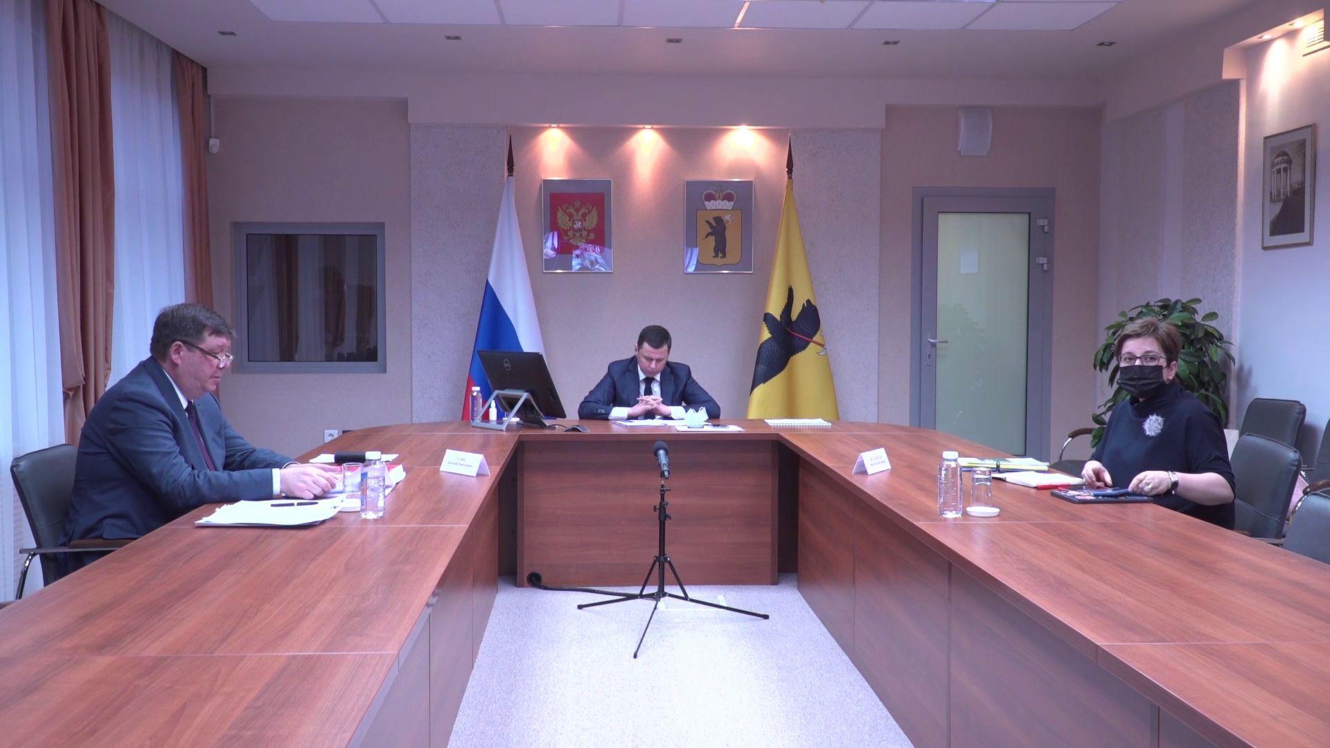 Дмитрий Миронов провел заседание медицинского экспертного совета