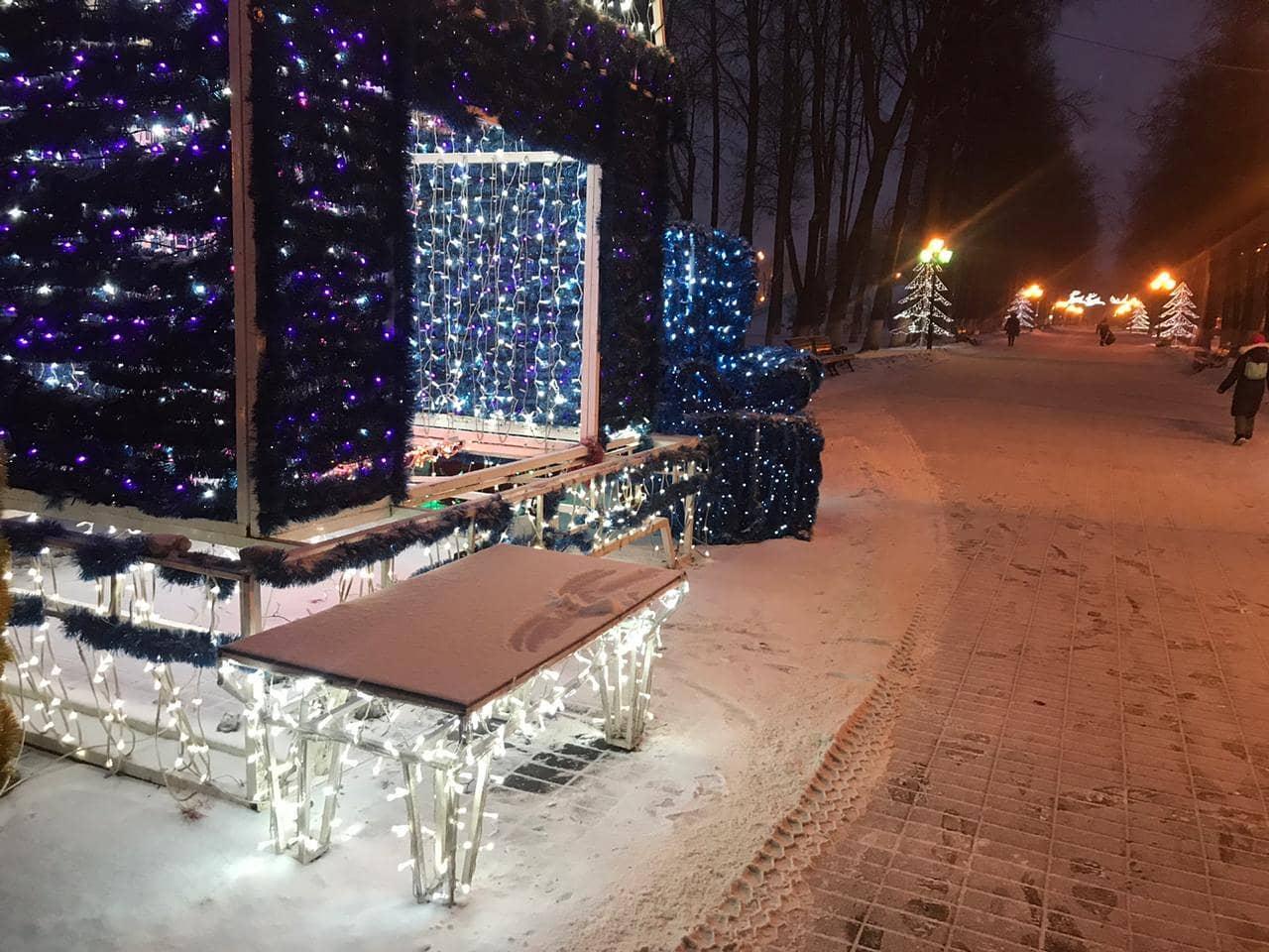 Из центра Ярославля пропала новогодняя инсталляция