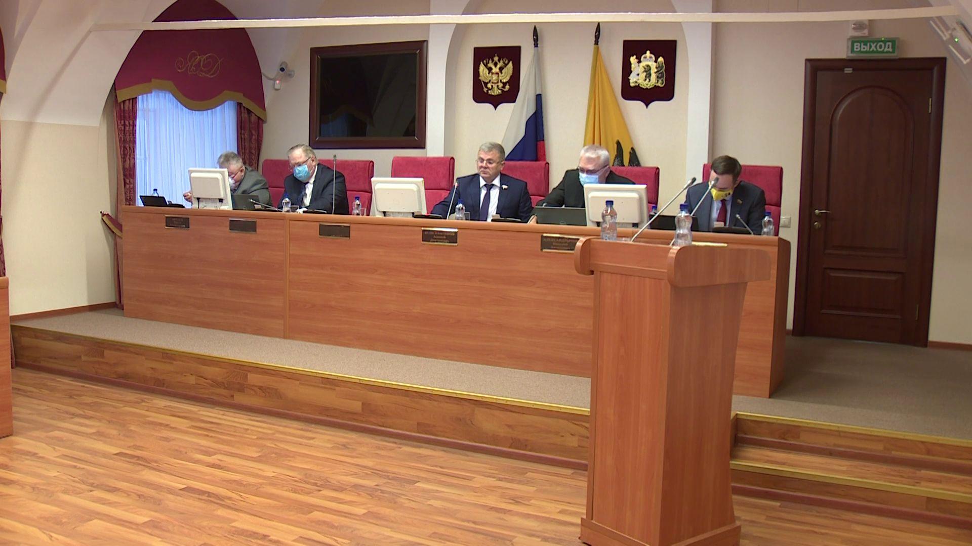 Депутаты областной Думы решали судьбу 15 тысяч ярославских предпринимателей