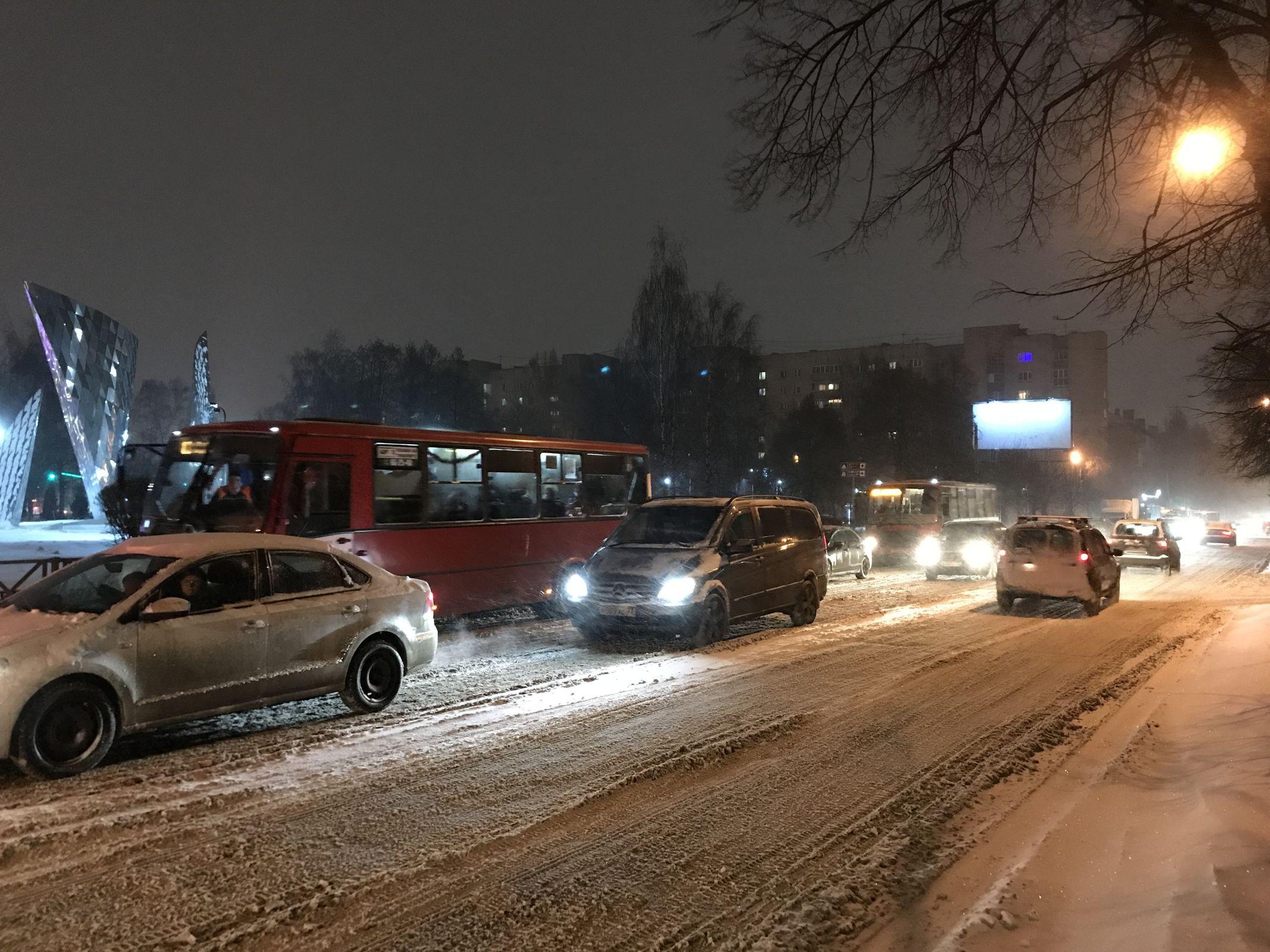 Дорожная обстановка в Ярославле нормализуется
