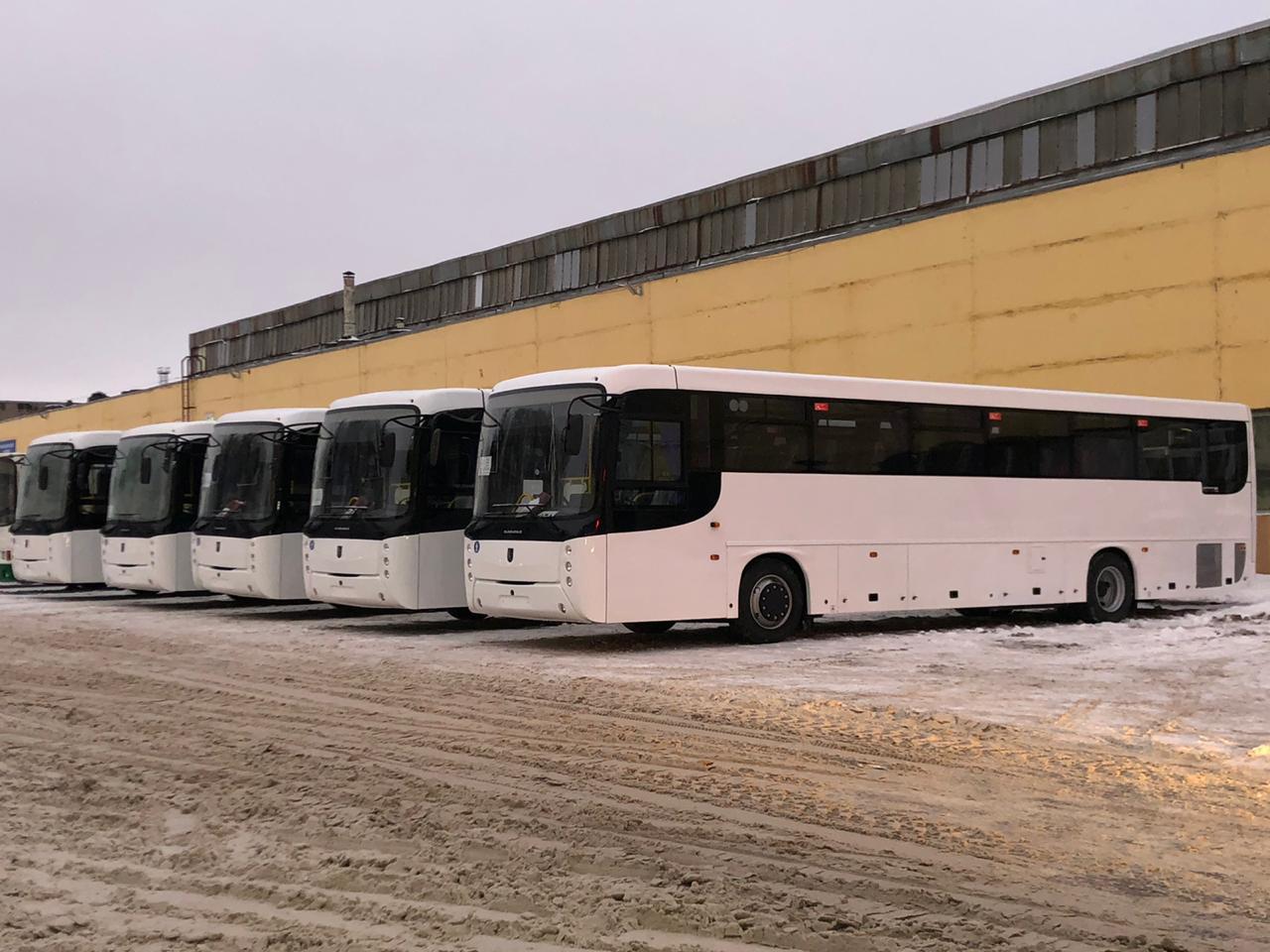 На Ярославском АТП появилось еще пять автобусов большого класса вместимости