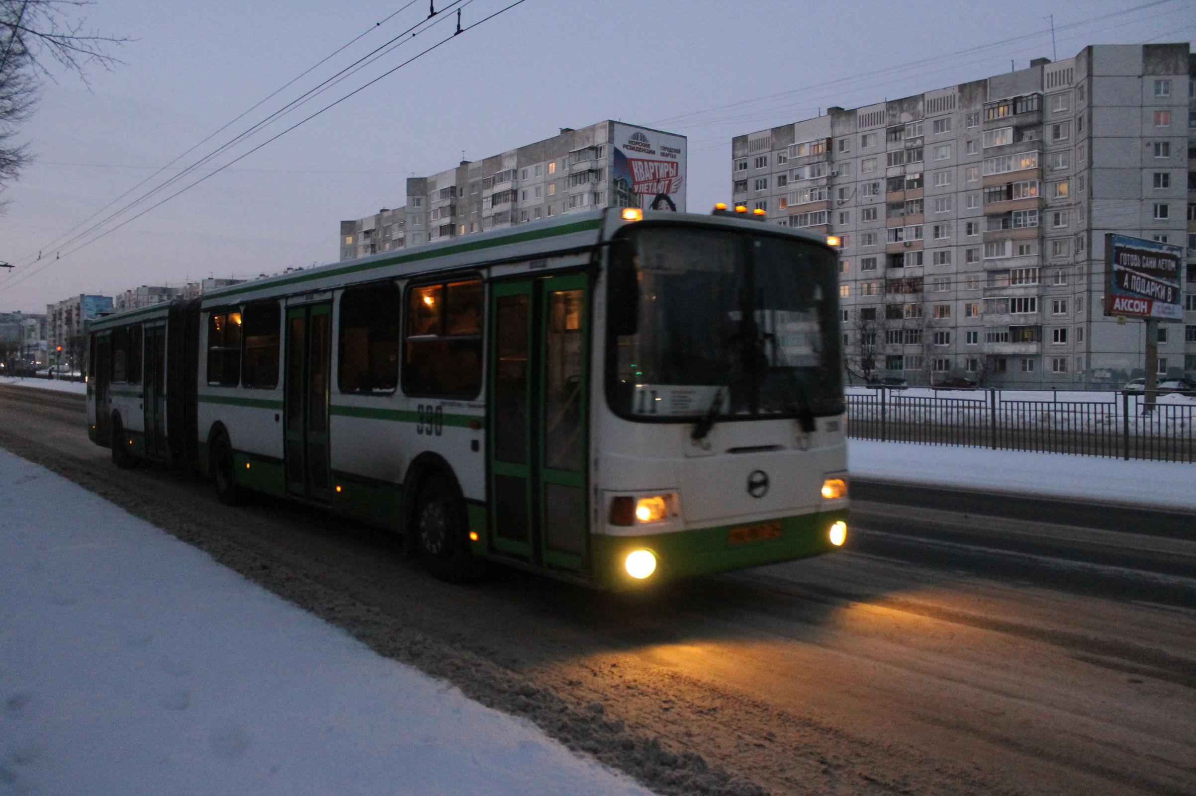 Никаких гуляний: власти Ярославля приняли решение по работе транспорта в Новый год