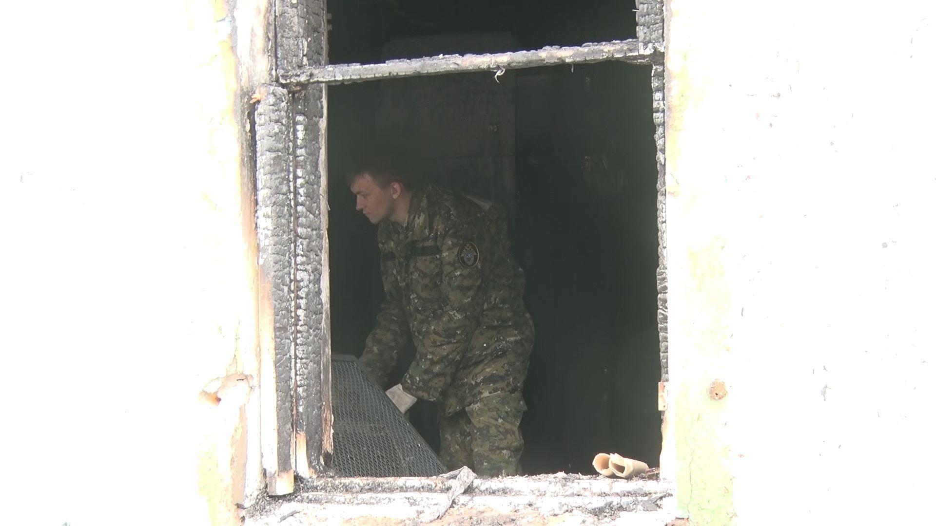 В Гаврилов-Яме в пожаре погибли два человека