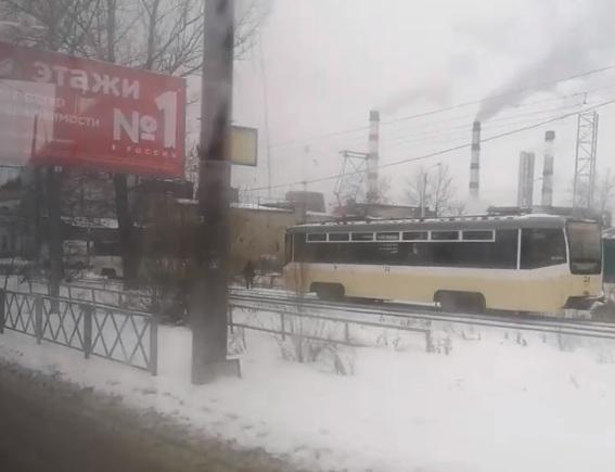 В Ярославле в трамвае скончался пассажир