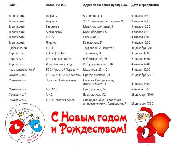 Парки приглашают ярославцев провести праздничные дни на свежем воздухе