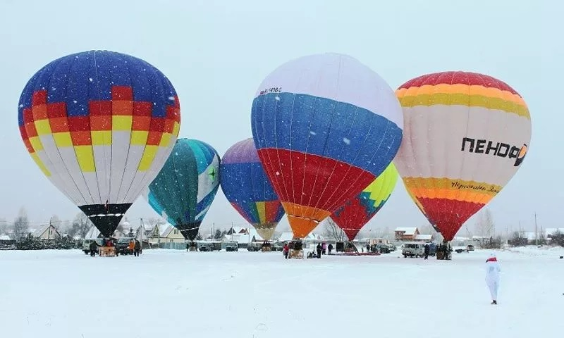 В Ярославской области пройдет зимний фестиваль воздухоплавания