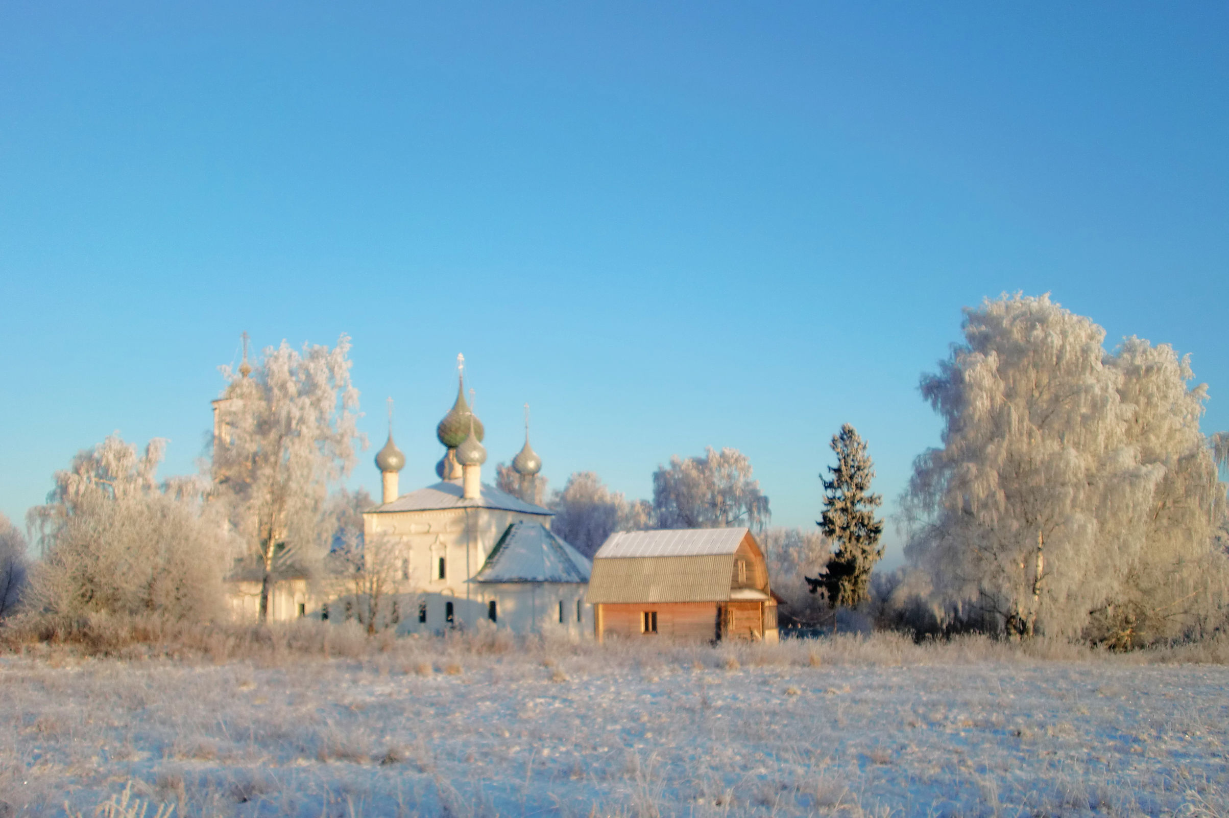В храмах Ярославской области прошли рождественские богослужения