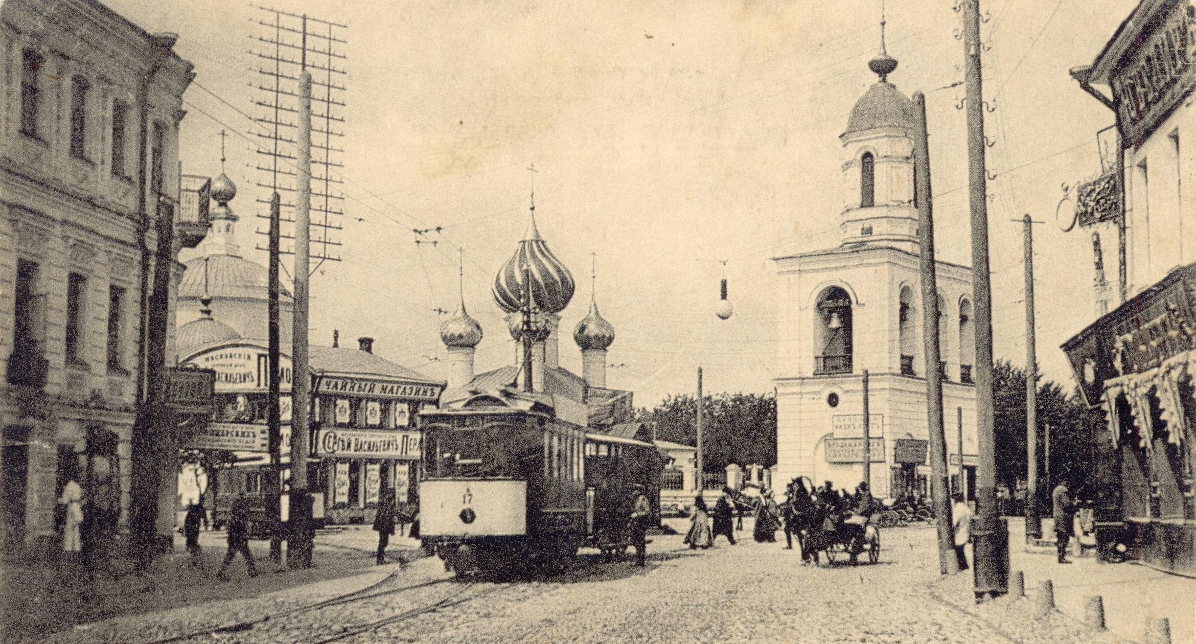 Ярославский трамвай отметил 120-летний юбилей