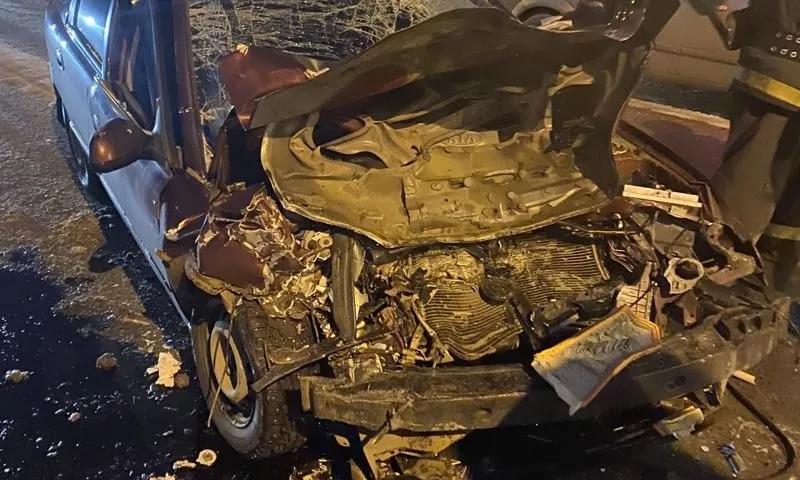 В Ярославле пьяный водитель протаранил автобус с пассажирами