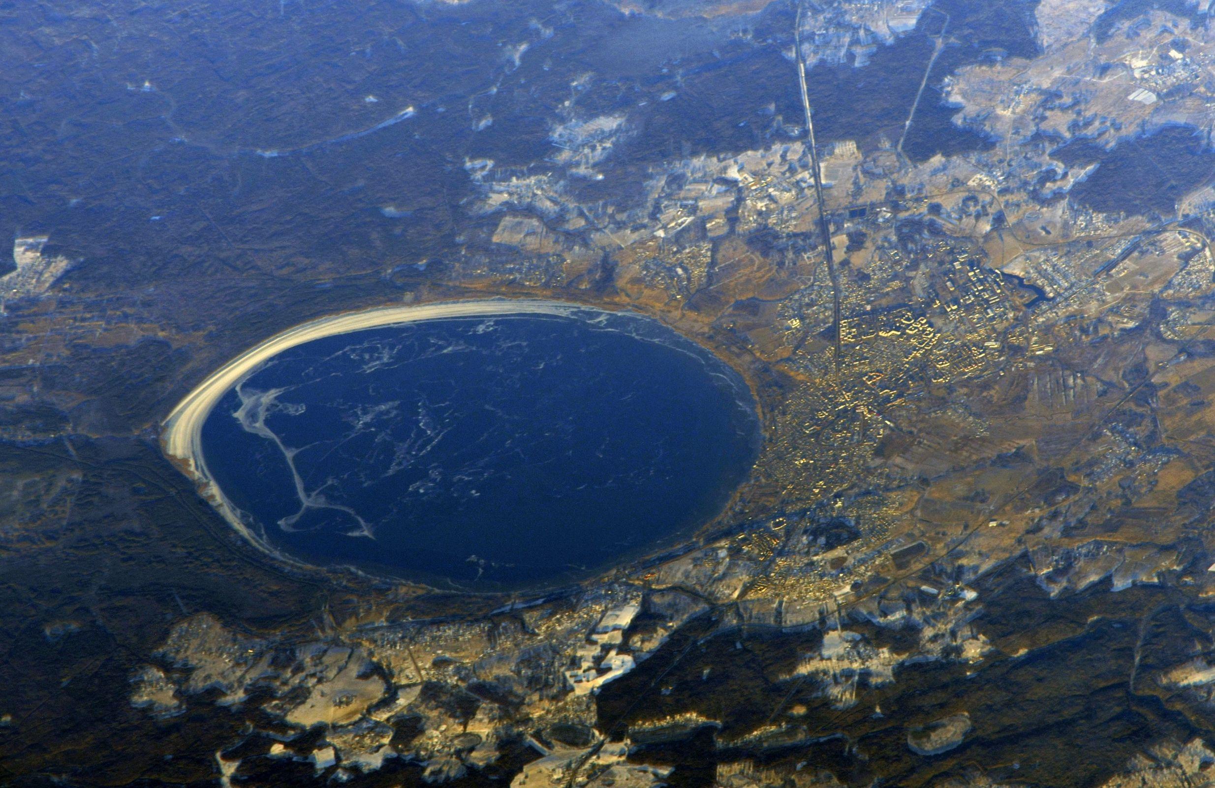 Ярославскую область показали из космоса