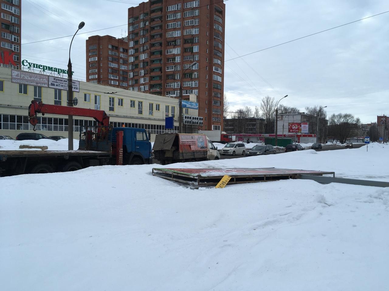 В Ярославской области за год демонтировали более тысячи незаконных рекламных конструкций