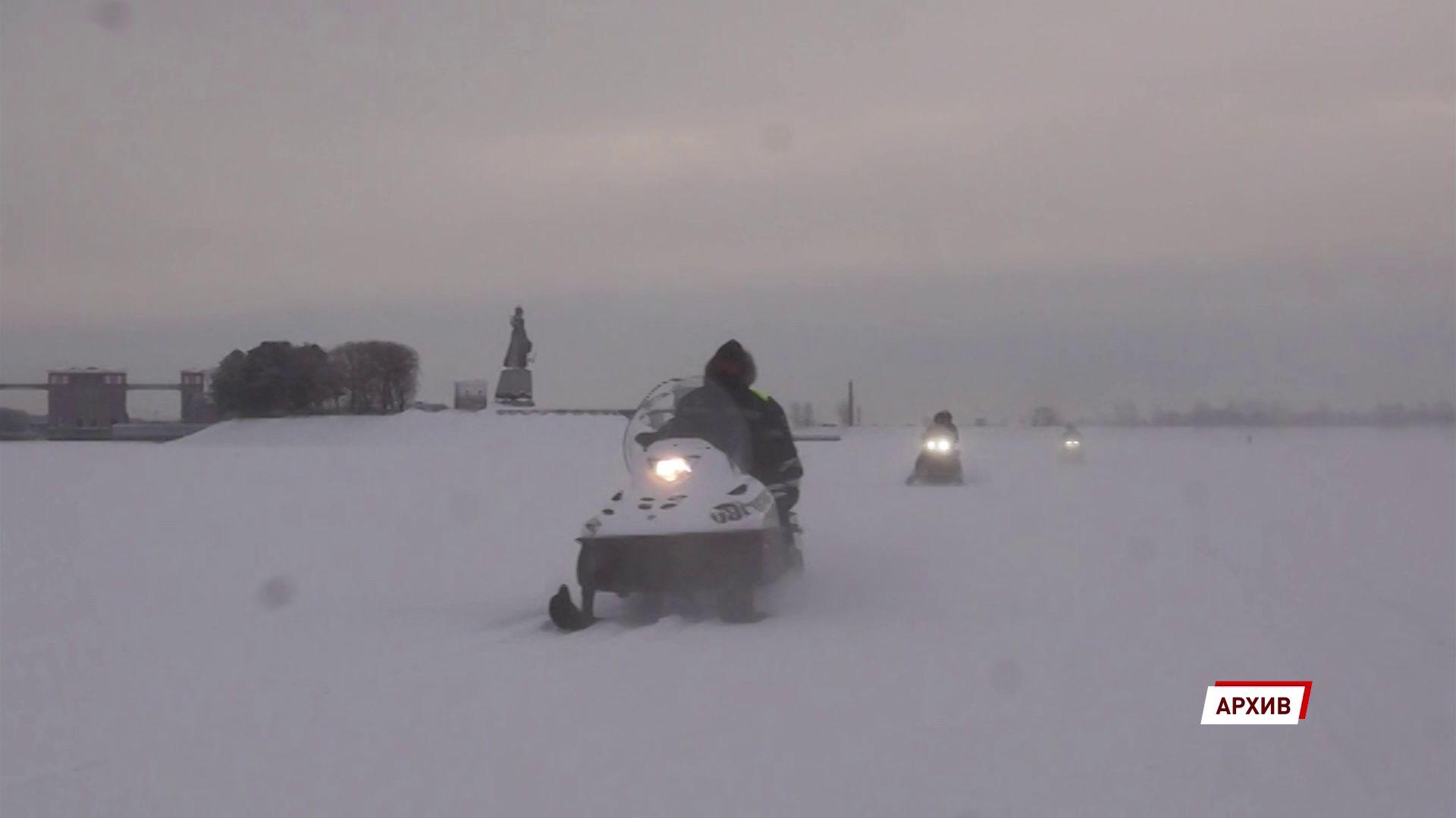 В Ярославской области проверяют хозяев снегоходов