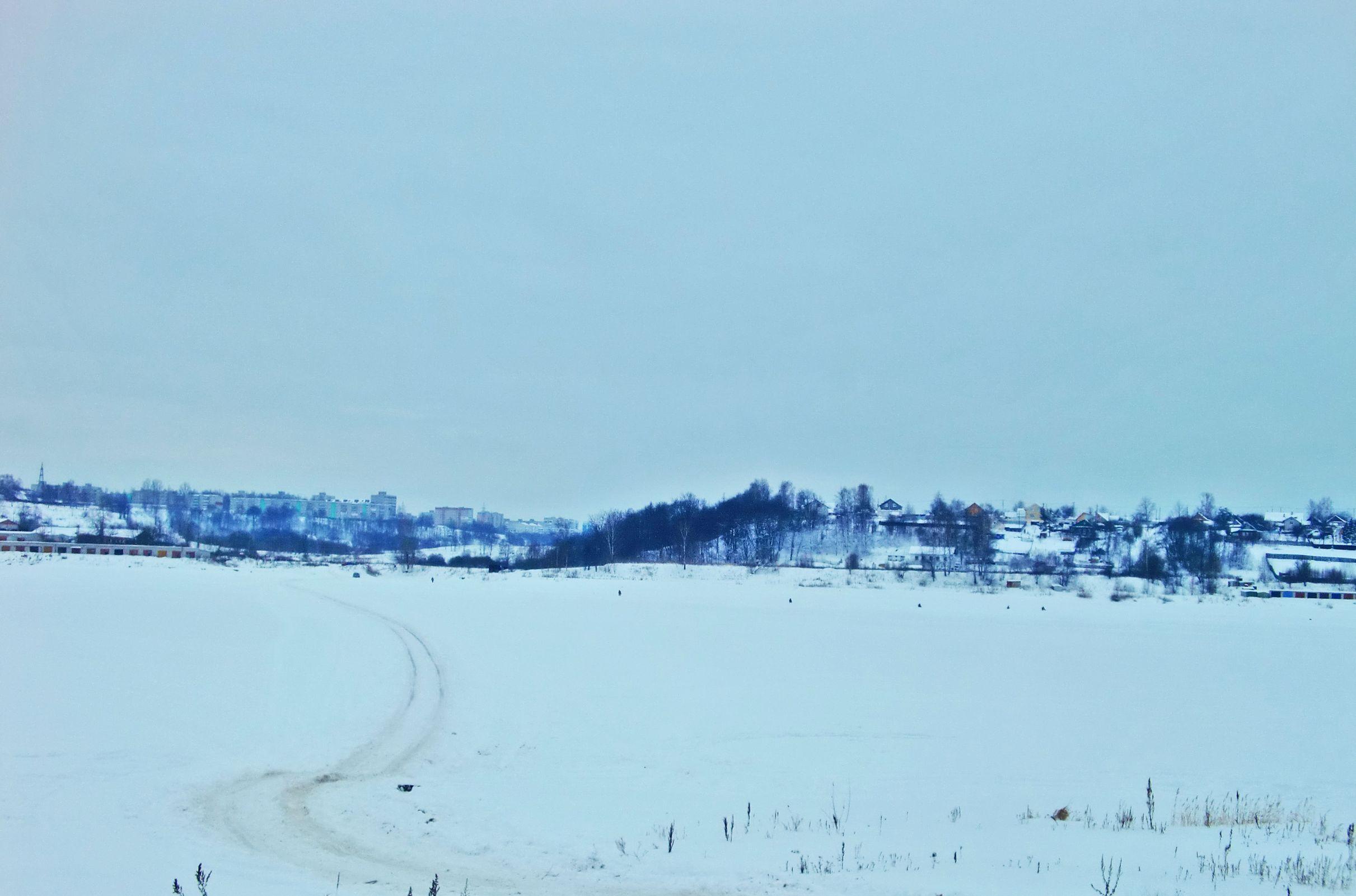 В Ярославской области откроют автомобильную ледовую переправу через Волгу